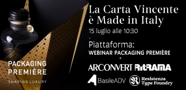 Arconvert's webinar for Packaging Première's Trend Talks